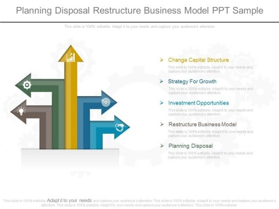 Planning Disposal Restructure Business Model Ppt Sample