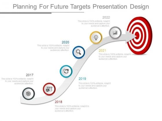 Planning For Future Targets Presentation Design
