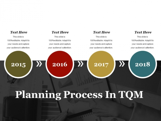 Planning Process In Tqm Ppt PowerPoint Presentation Styles Example