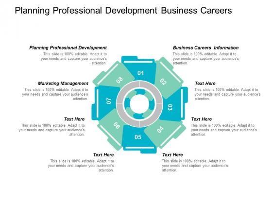 Planning Professional Development Business Careers Information Marketing Management Ppt PowerPoint Presentation Ideas Slide Portrait