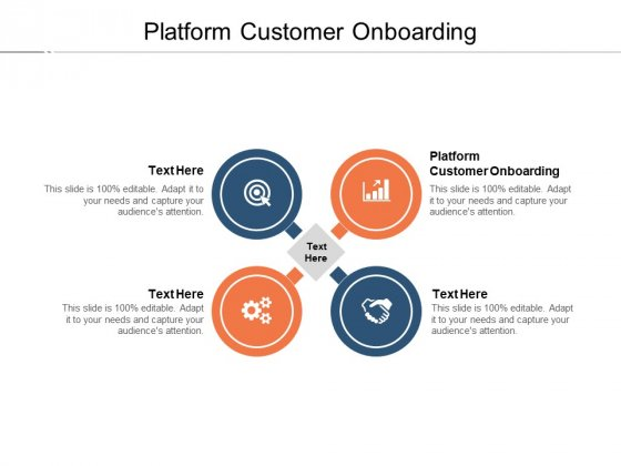 Platform Customer Onboarding Ppt PowerPoint Presentation Outline Graphics Template Cpb Pdf