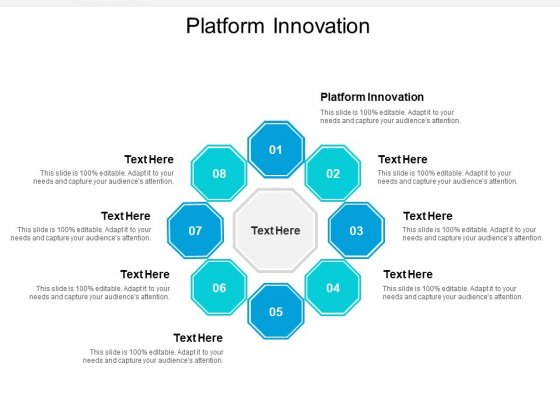 Platform Innovation Ppt PowerPoint Presentation Ideas Images Cpb