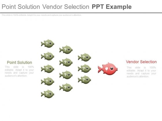 Point Solution Vendor Selection Ppt Example