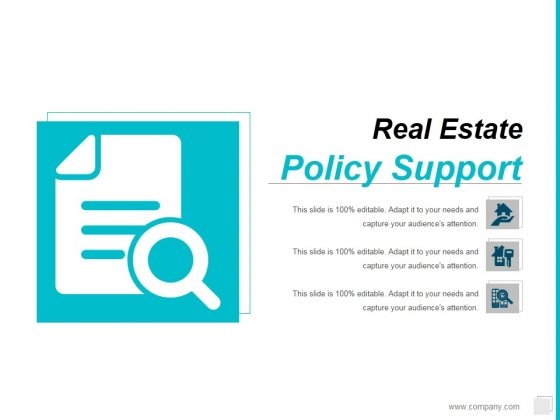 Policy Support Ppt PowerPoint Presentation Show