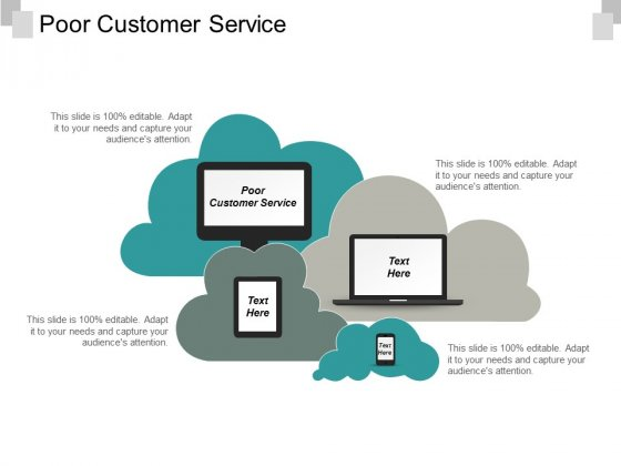 Poor Customer Service Ppt PowerPoint Presentation Layouts Graphics Design Cpb