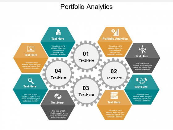 Portfolio Analytics Ppt PowerPoint Presentation Outline Layouts Cpb