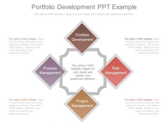 Portfolio Development Ppt Example