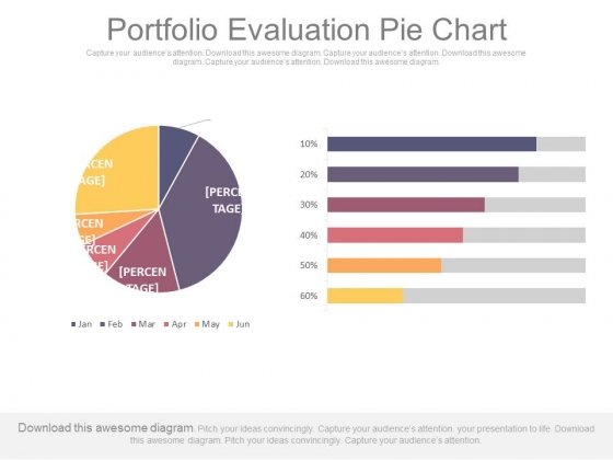 Portfolio Evaluation Pie Chart Ppt Slides