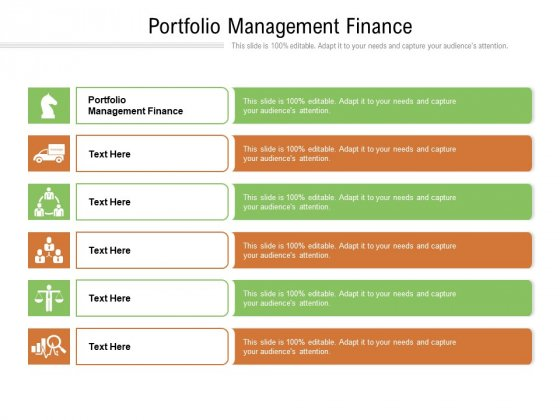 Portfolio Management Finance Ppt PowerPoint Presentation Styles Portfolio Cpb Pdf