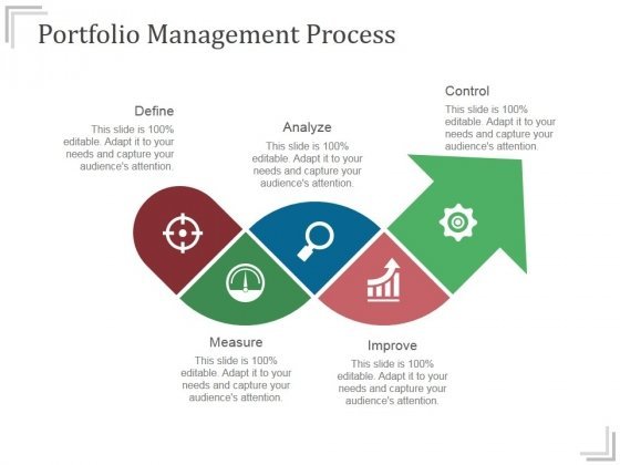 Portfolio Management Process Ppt PowerPoint Presentation Microsoft