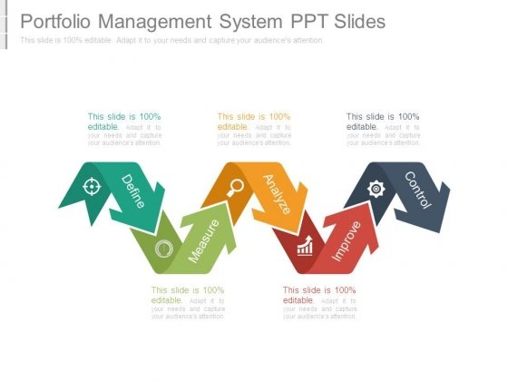 Portfolio Management System Ppt Slides