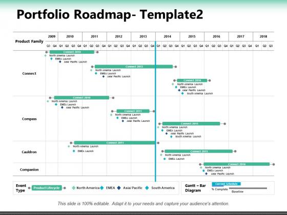 Portfolio Roadmap Companion Ppt PowerPoint Presentation Outline Example