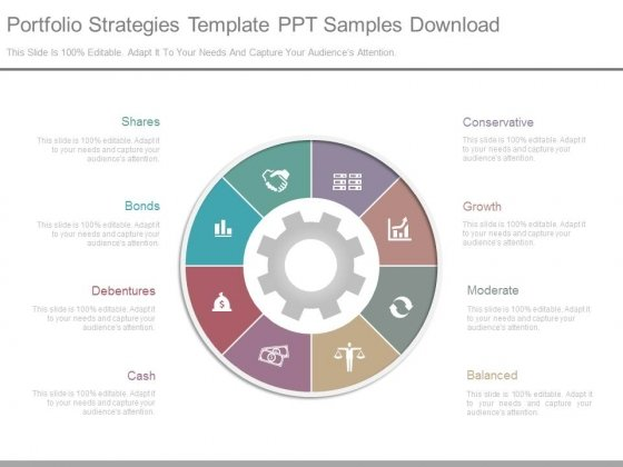 Portfolio Strategies Template Ppt Samples Download