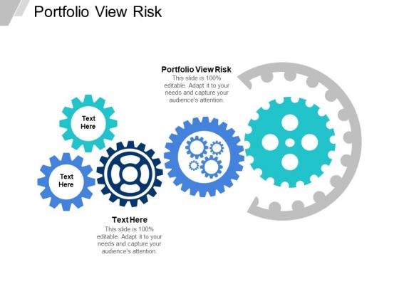 Portfolio View Risk Ppt PowerPoint Presentation Professional Demonstration Cpb