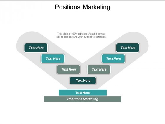 Positions Marketing Ppt PowerPoint Presentation Pictures Mockup Cpb