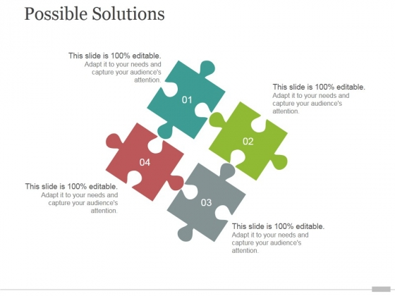 Possible Solutions Tamplate 1 Ppt PowerPoint Presentation Files