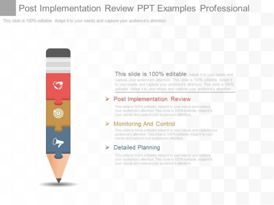 Post Implementation Review Ppt Examples Professional