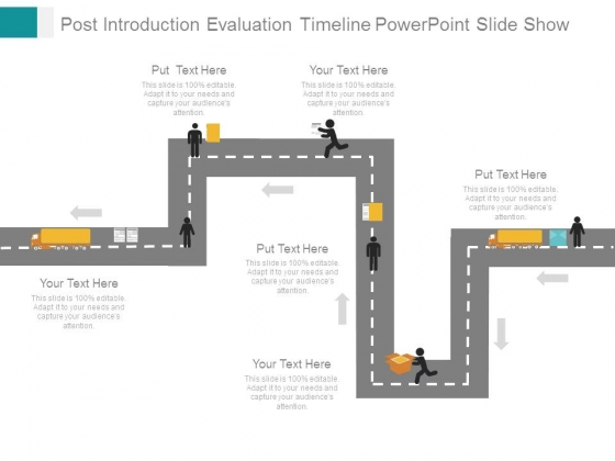 Post Introduction Evaluation Timeline Powerpoint Slide Show