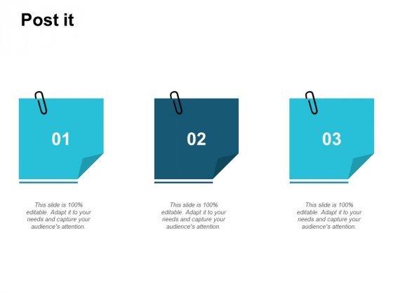 Post It Business Marketing Ppt PowerPoint Presentation Slides Brochure