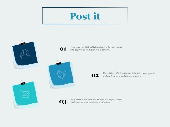 Post It Business Ppt PowerPoint Presentation Pictures