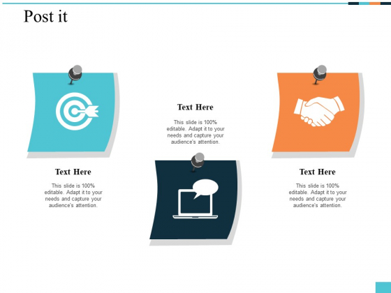 Post It Icon Management Ppt PowerPoint Presentation Pictures Design Ideas