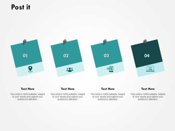 Post It Management Ppt PowerPoint Presentation File Infographics