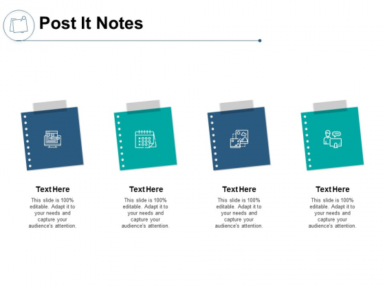 Post It Notes Management Ppt PowerPoint Presentation Pictures Outline