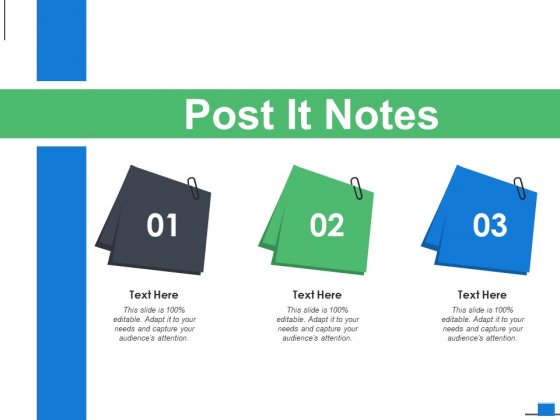 Post It Notes Management Ppt PowerPoint Presentation Professional Samples