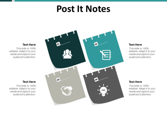 Post It Notes Management Ppt PowerPoint Presentation Show Smartart