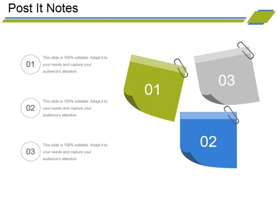 Post It Notes Ppt PowerPoint Presentation File Shapes
