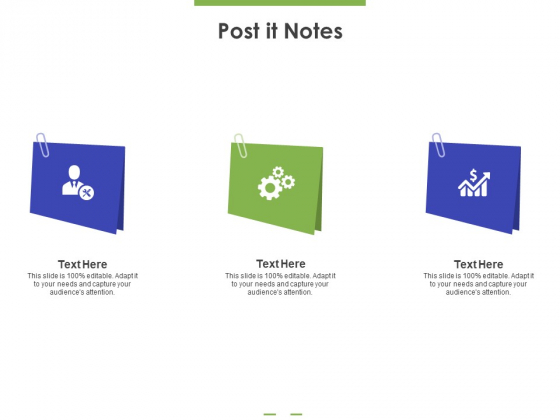 Post It Notes Ppt PowerPoint Presentation Gallery Slide Portrait PDF