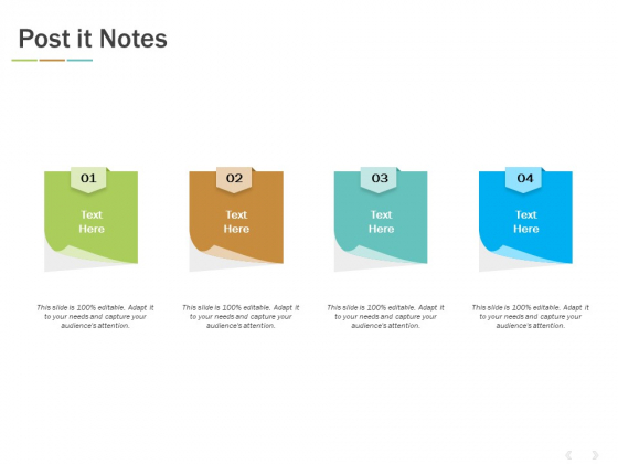 Post It Notes Ppt PowerPoint Presentation Layouts Slideshow