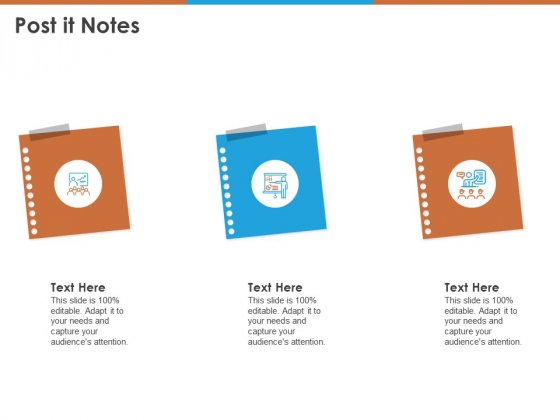 Post It Notes Ppt PowerPoint Presentation Styles Examples PDF