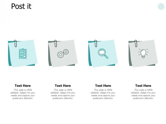 Post It Planning Strategy Ppt PowerPoint Presentation Outline Format Ideas