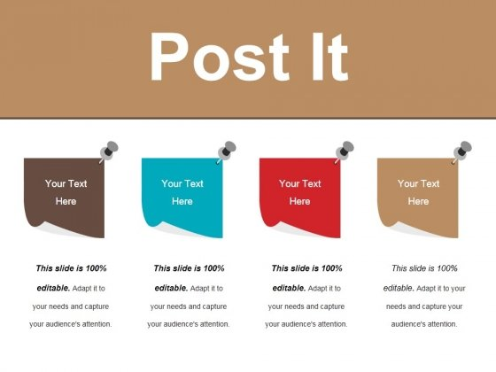 Post It Ppt PowerPoint Presentation File Samples