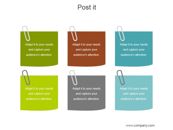 post it ppt powerpoint presentation good powerpoint templates