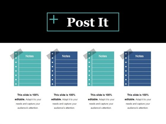 Post It Ppt PowerPoint Presentation Icon Deck