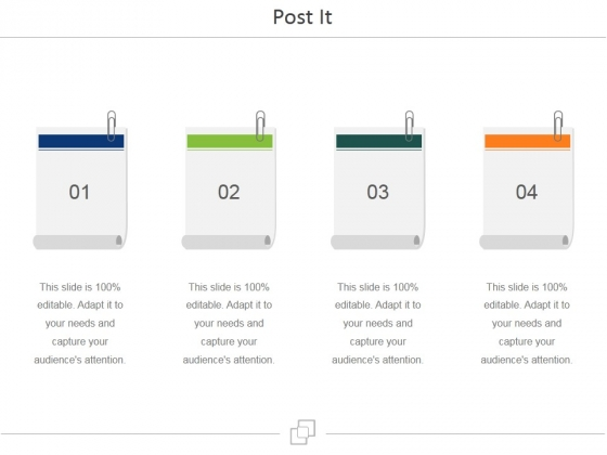 Post It Ppt PowerPoint Presentation Ideas File Formats
