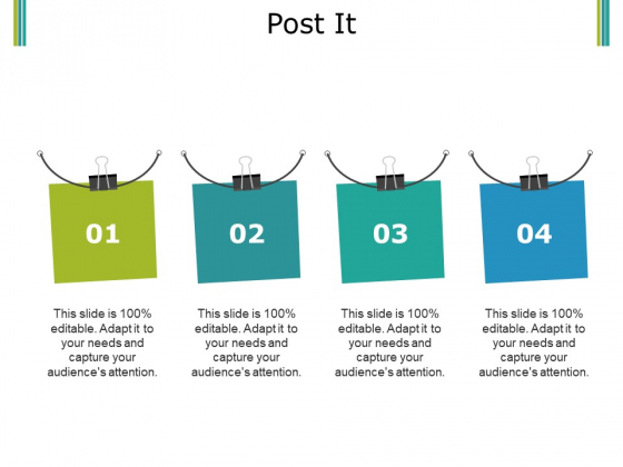Post It Ppt PowerPoint Presentation Ideas Infographic Template