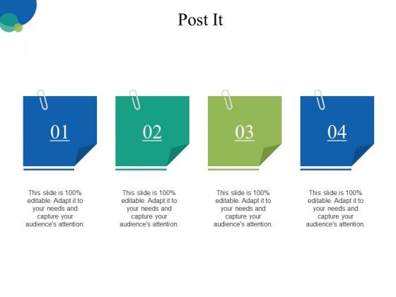 Post It Ppt PowerPoint Presentation Ideas Information