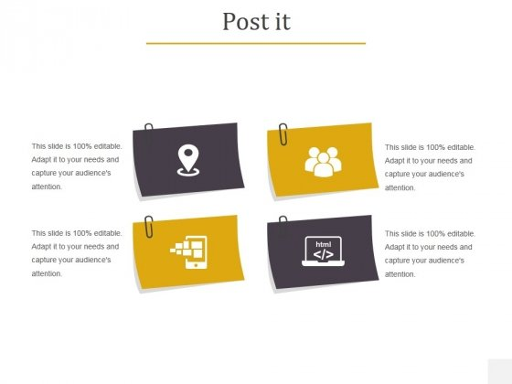 Post It Ppt PowerPoint Presentation Infographics Files