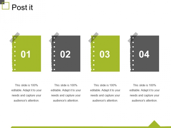 Post It Ppt PowerPoint Presentation Layouts Shapes
