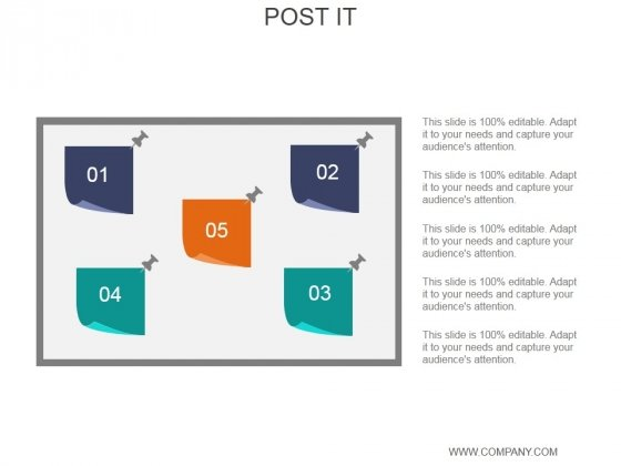Post It Ppt PowerPoint Presentation Layouts