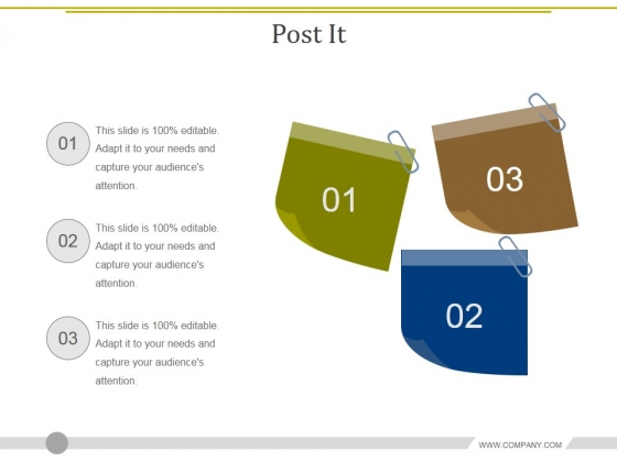 Post It Ppt PowerPoint Presentation Pictures Icons