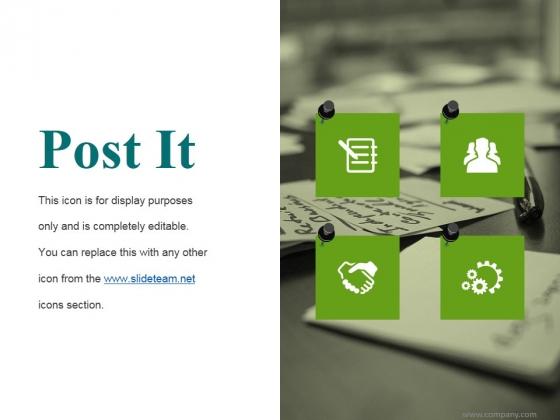 Post It Ppt PowerPoint Presentation Portfolio Background