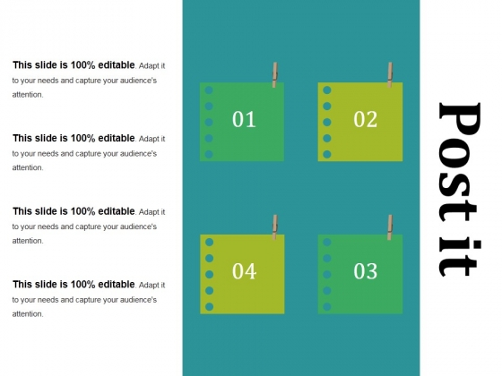 Post It Ppt PowerPoint Presentation Professional Graphics Tutorials