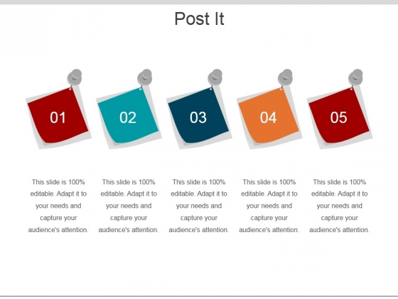 Post It Ppt PowerPoint Presentation Show Display