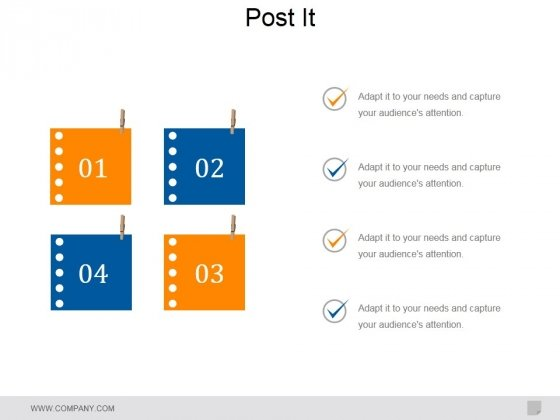 Post It Ppt PowerPoint Presentation Show Format