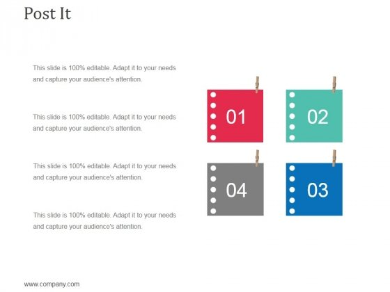 Post It Ppt Powerpoint Presentation Show Vector