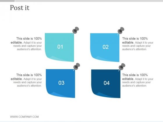 Post It Ppt PowerPoint Presentation Slide